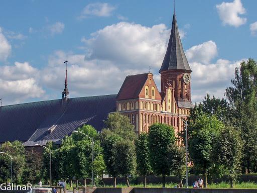 Кафедральный собор в Калининграде.