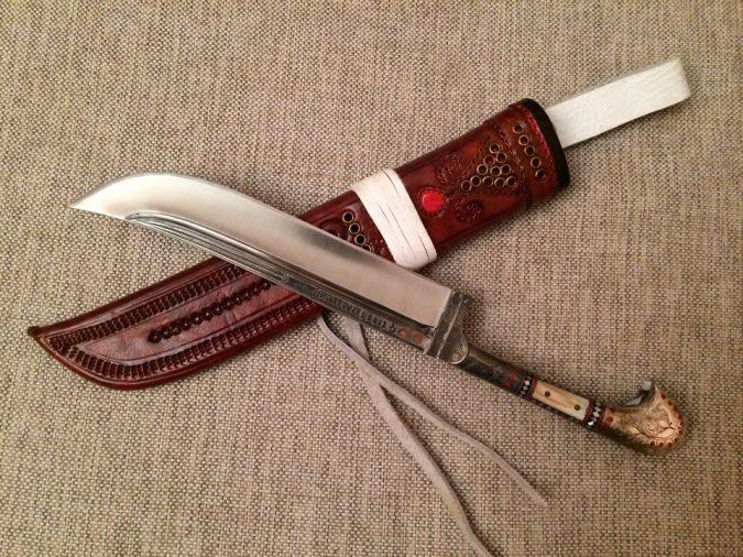 Узбекский нож пчак
