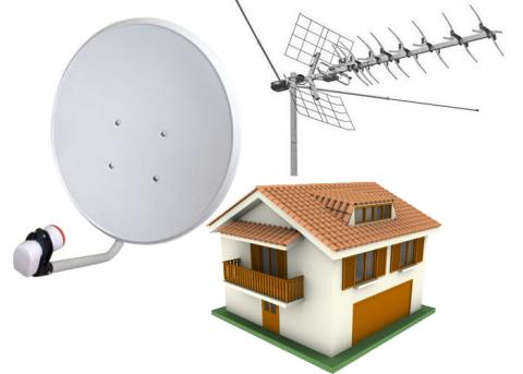 спутниковое оборудование для телевидение